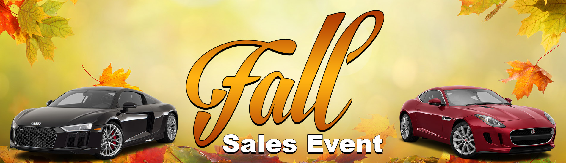Fall sales in Performance Motor Cars,Wilton